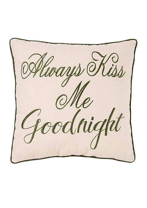 C&F Angelina Kiss Goodnight Pillow