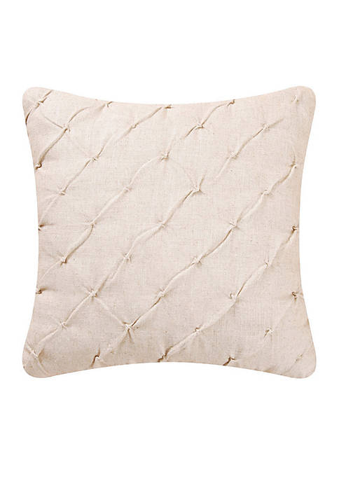 C&F Elsie Diamond Tuck Throw Pillow