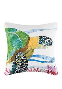 Sea Turtle Indoor/Outdoor Pillow