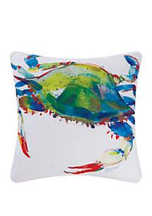 Crab Indoor/Outdoor Pillow
