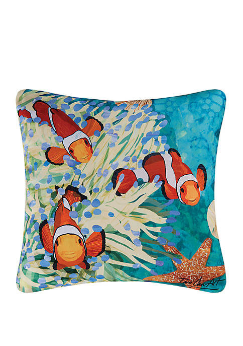 C&F Coral Reef Indoor/Outdoor Pillow