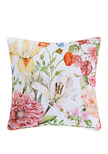 Sunny Floral Indoor/Outdoor Pillow