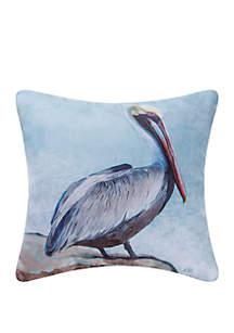 Pelican Indoor/Outdoor Pillow