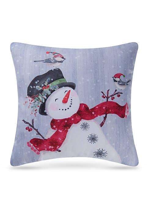 C&F Snowman Pillow