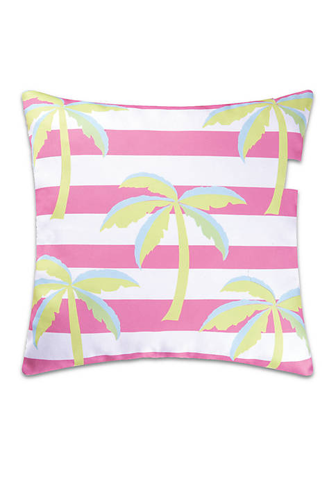 C&F Palm Trees Decorative Pillow
