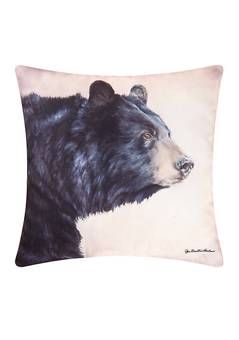 C&F Bear Throw Pillow