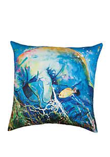 Manatee Barrier Reef Pillow