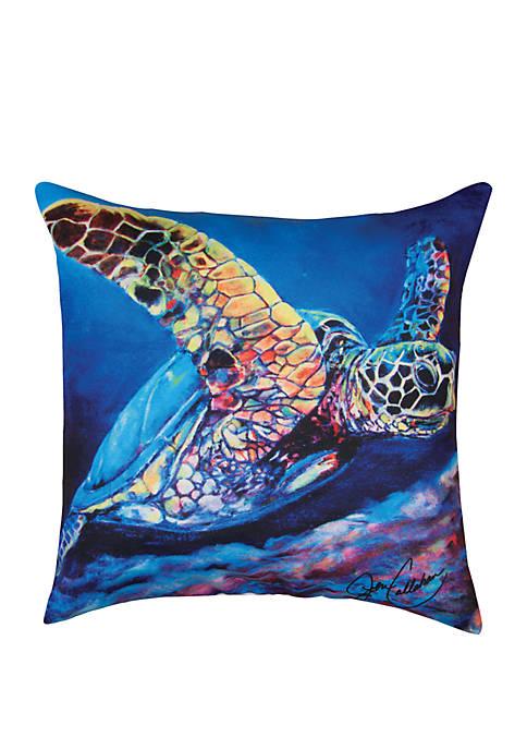 Seaturtle Ascending Pillow