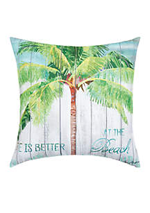 At the Beach Decorative Pillow