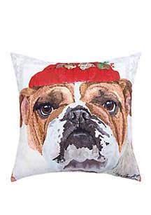 Bull Dog Indoor/Outdoor Pillow