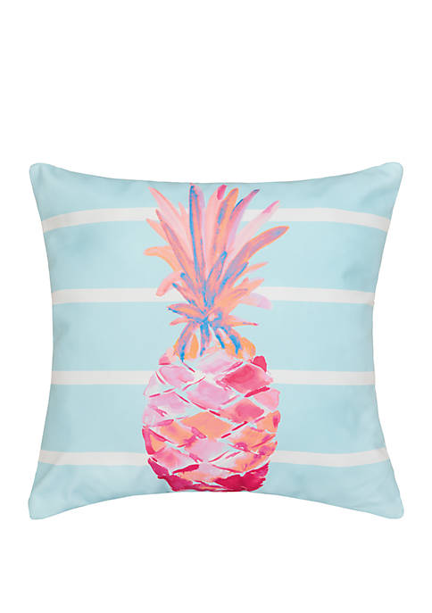 C&F Palm Beach Pineapple Pillow
