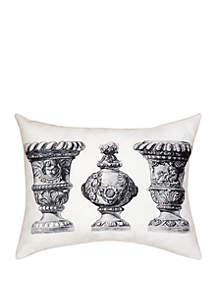 Palace Urns Indoor/Outdoor Pillow