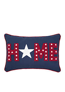 Home Star Decorative Pillow