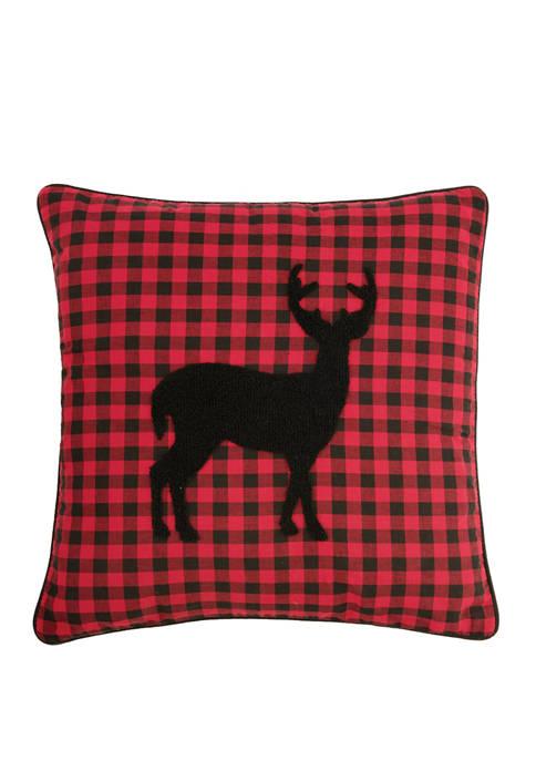 Woodford Deer Pillow