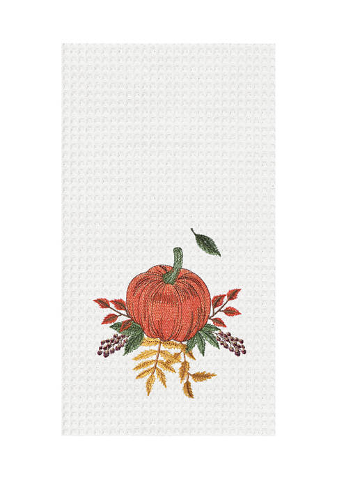 Autumn Pumpkin Kitchen Towel