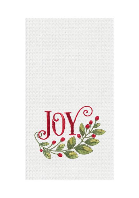 Joy Garland Kitchen Towel