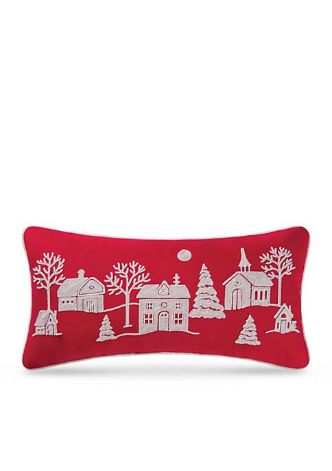 C&F Peaceful Village Pillow
