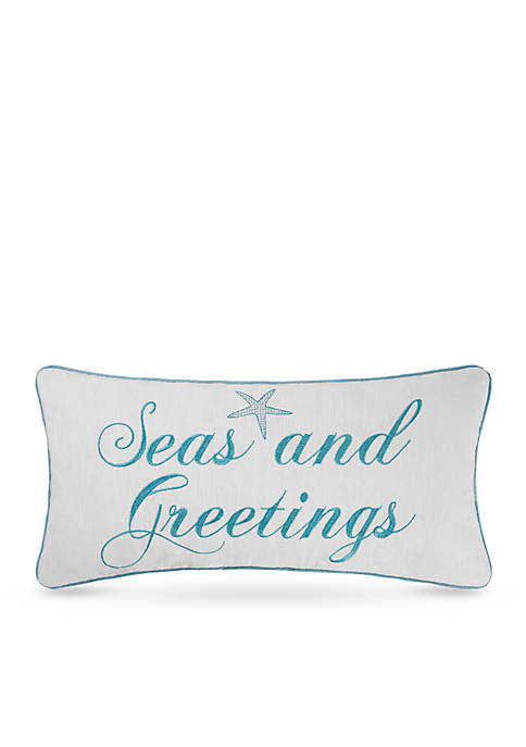 C&F Seas and Greetings Pillow