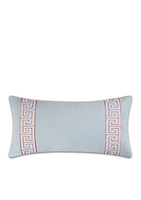 C&F Whitney Greek Key Decorative Pillow