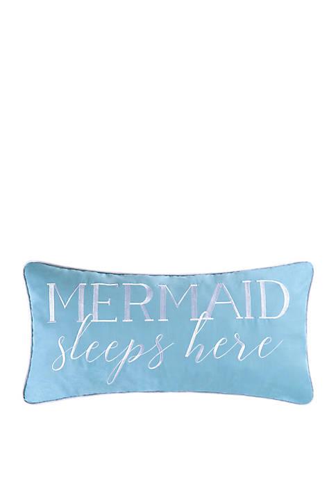 C&F Home Mermaid Sleeps Here Pillow