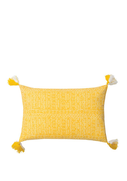 Cyrus Canary Pillow