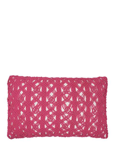 Clyde Flamingo Pillow