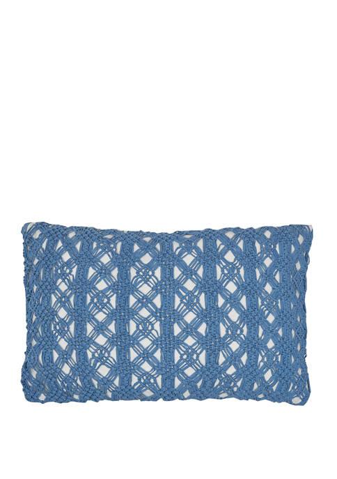 Carol & Frank Clyde Santorini Pillow