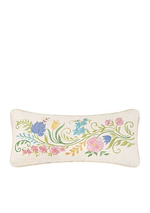 C&F Floria Flower Pillow