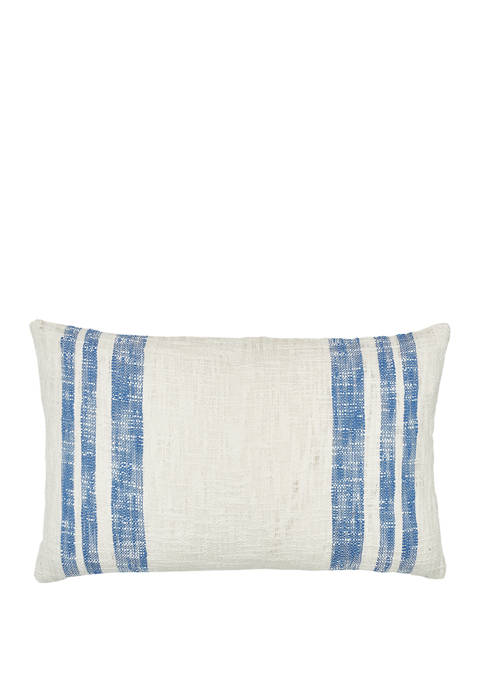 Carol & Frank Morgan Santorini Pillow
