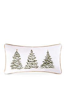 Golden Greenery Pillow
