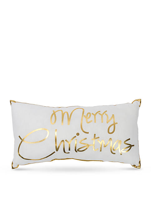 C&F Glam Merry Christmas Pillow