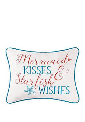 Mermaid Kisses Pillow