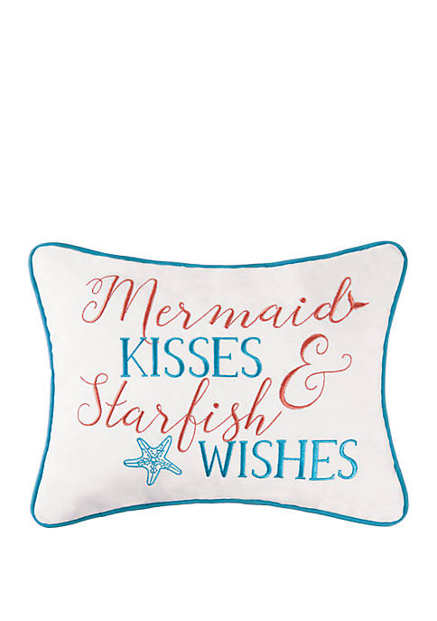 C&F Home Mermaid Kisses Pillow