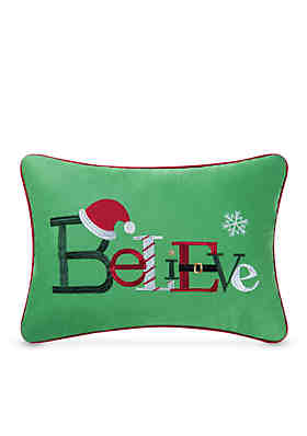 C F Believe Decorative Pillow