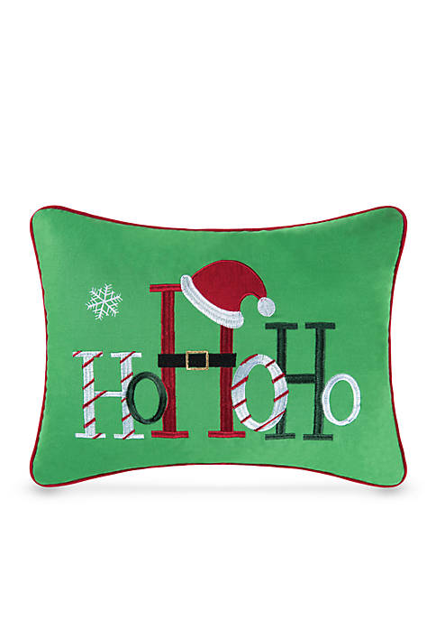 C&F Ho Ho Ho Decorative Pillow