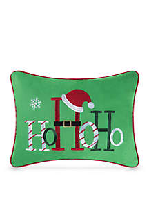 Ho Ho Ho Decorative Pillow