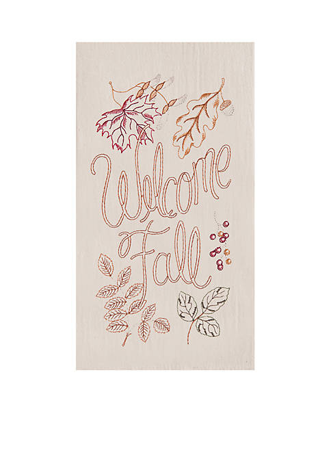 C&F Welcome Fall Kitchen Towel