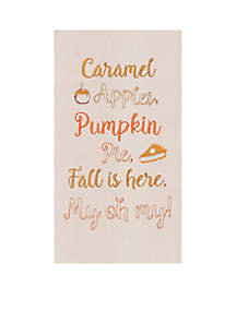 Fall Is Here Kitchen Towel