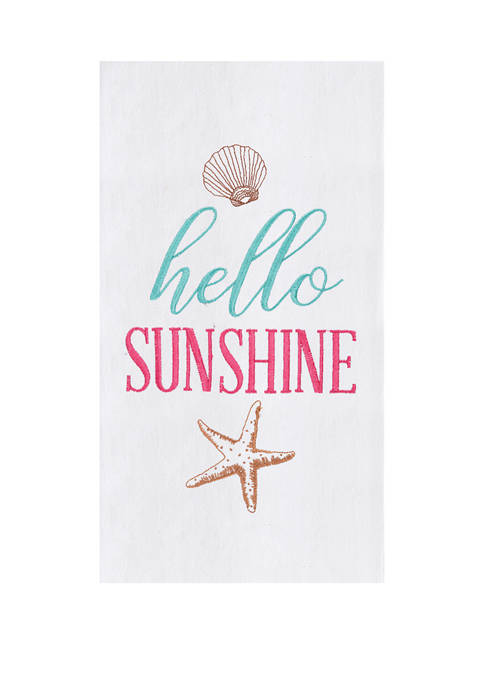C&F Hello Sunshine Kitchen Towel