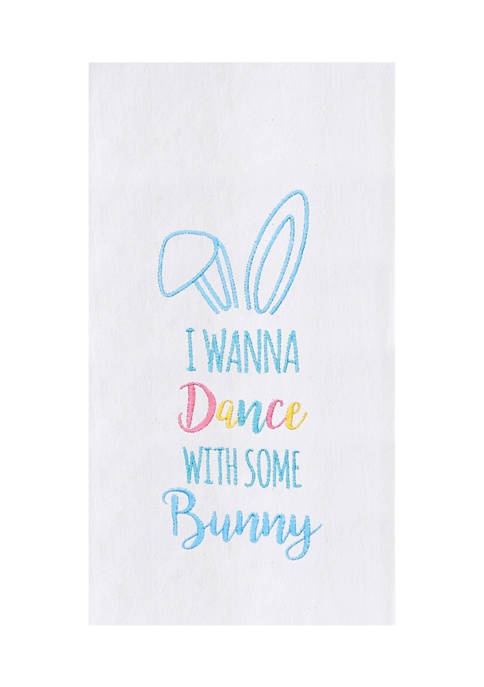 C&F Dance with some Bunny Kitchen Towel