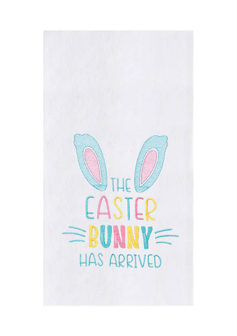 C&F Easter Bunny Has Arrived Kitchen Towel