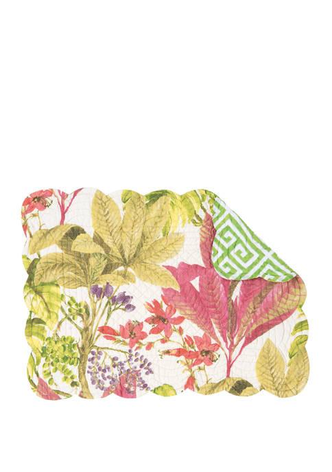 C&F Floral Placemat