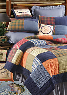 Northern Plaid King Quilt