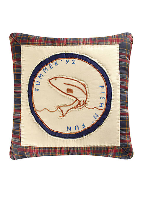 C&F Fish-N-Fun Throw Pillow