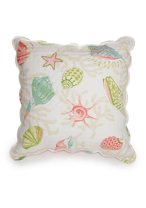 C&F Clearwater Square Decorative Pillow 20-in. X 20-in.