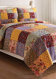 Floria Twin Quilt Set