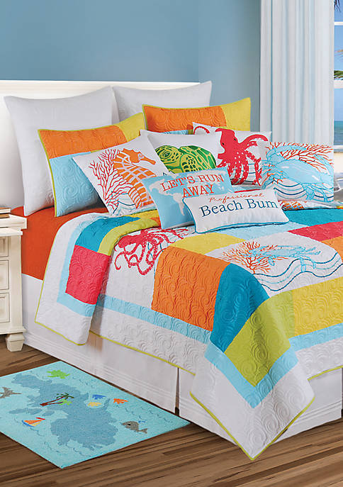 C&F Tropic Escape King Quilt
