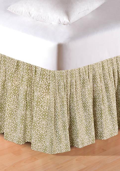 C&F Elsie Bedskirt