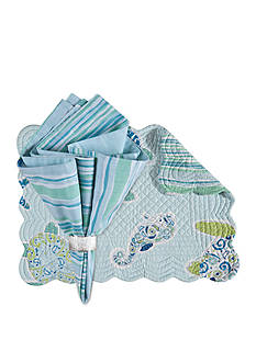 C&F Imperial Coast Placemat and Napkin