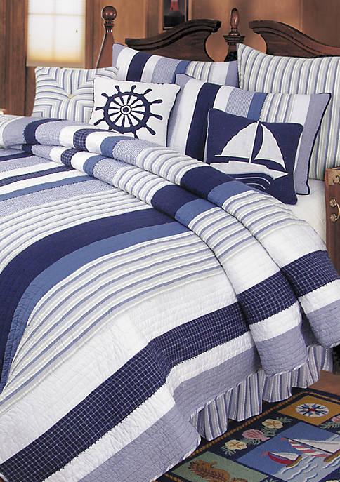 Nantucket Dreams Queen Bedskirt 14-in. drop
